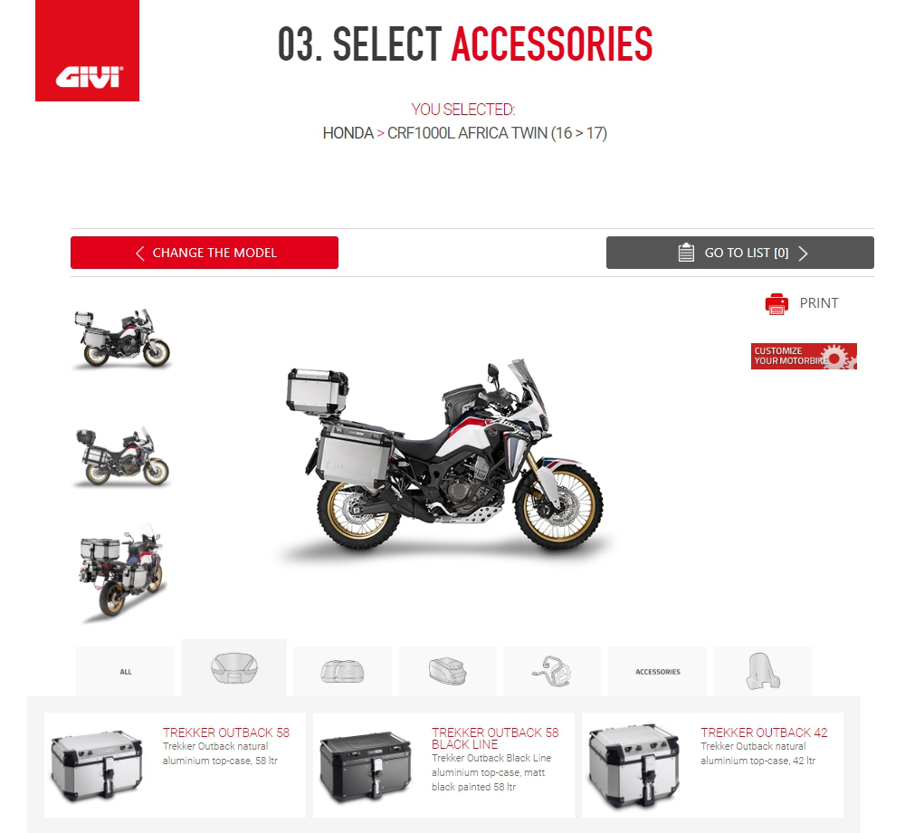 Soft Bags, Cases, Hard Bags, Helmets, Motorbike Accessories