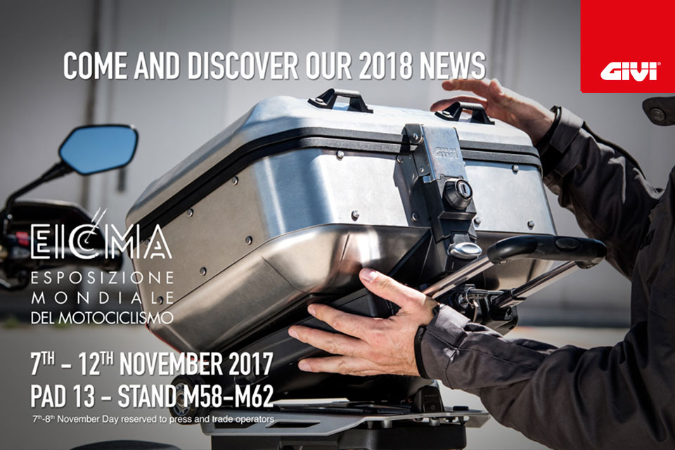 GIVI+WARMS+UP+FOR+EICMA+2017+WITH+NEW+PRODUCTS