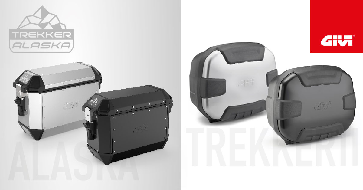 TREKKER+ALASKA+36+LTR+and+TREKKER+II+35%3A+comfort+and+design+for+the+new+GIVI+aluminium+cases%21